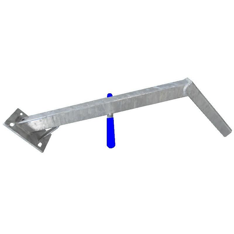 Potence nue en tube 40*40 pour timon en 60mm