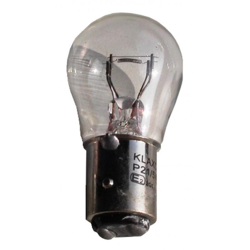 Ampoule poirette bi-fil 12V-21/5W