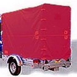 Bâche haute rouge - 2000x1280 mm