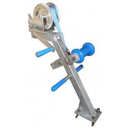 Potence complète en tube 40x40 mm pour timon en 60x60 mm - avec diabolo