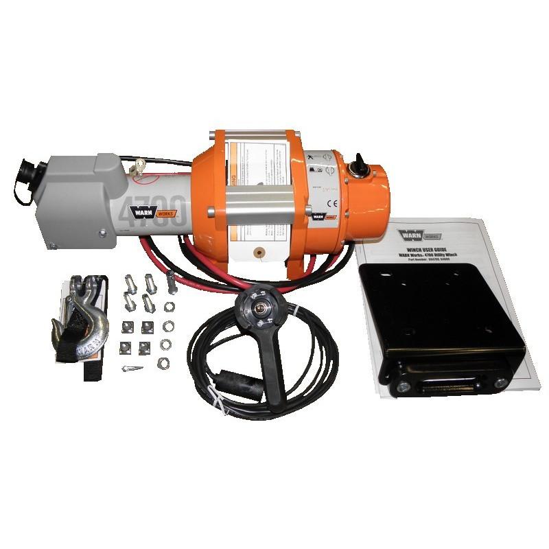 Treuil électrique 12V 1600Kg