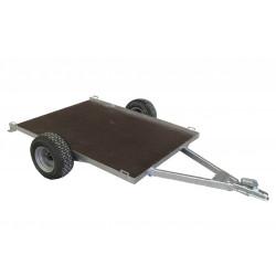 Remorque non routière CHPL0341 - plateau 1,5 x 1 m - MMA ou PTAC de 400kg