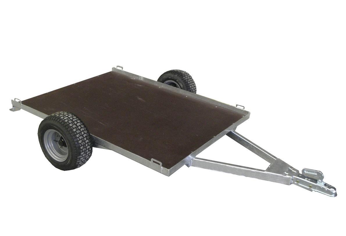 Remorque non routière CHPL0341 en PTAC de 260 kg avec un plateau de 1,