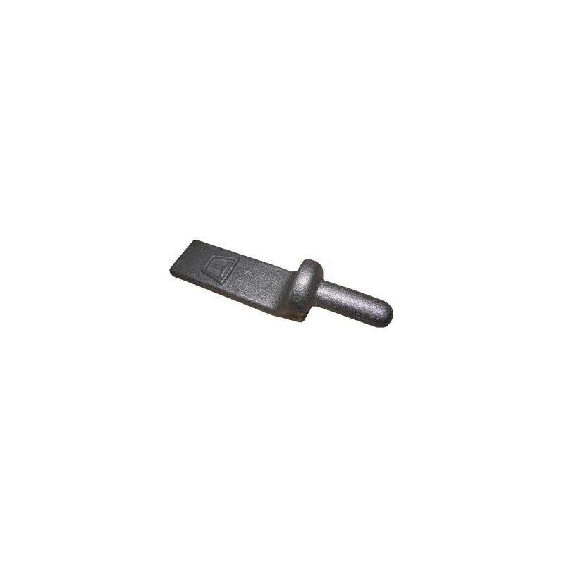 Gond en acier largeur 25mm x 110mm axe 12mm