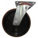 Roulette pivotante diamètre 150x40mm sans frein