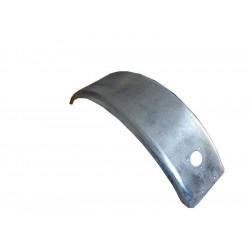 Garde boue 10 pouces arrondi en acier galvanisé - 560x175x155mm - P