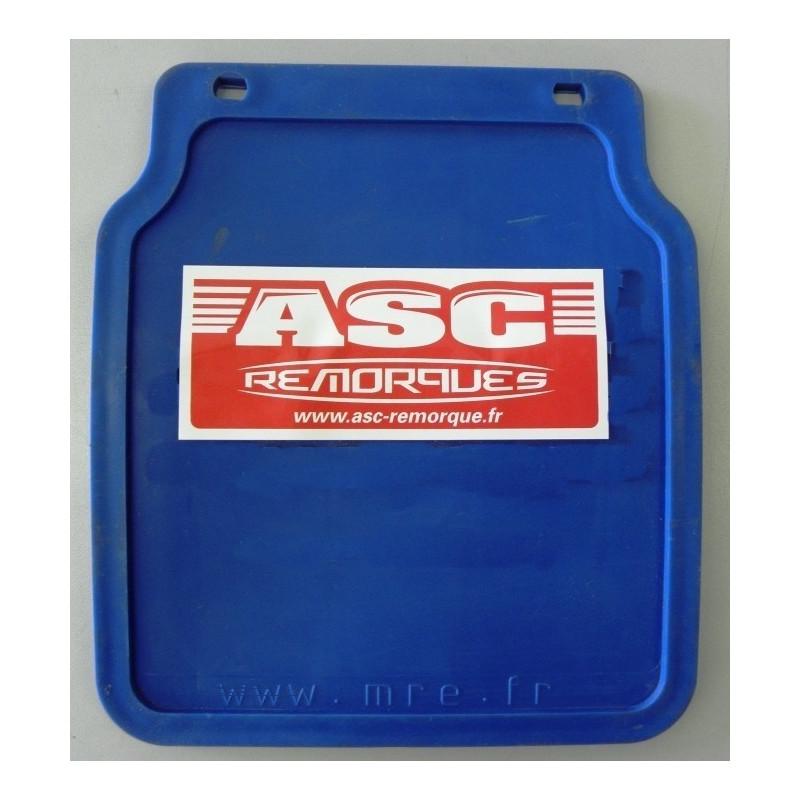 Bavette bleue pour garde boue 200x223mm