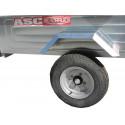Remorque bagagère BAG0391 - caisse de 1,44x1,21m - PTAC 500kg