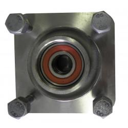 Moyeu non freiné pour essieu de 500Kg NF Alko - 4x115 - Roulement à cartouche