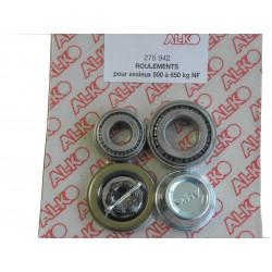 Kit roulement conique pour essieux 500kg NF - Alko