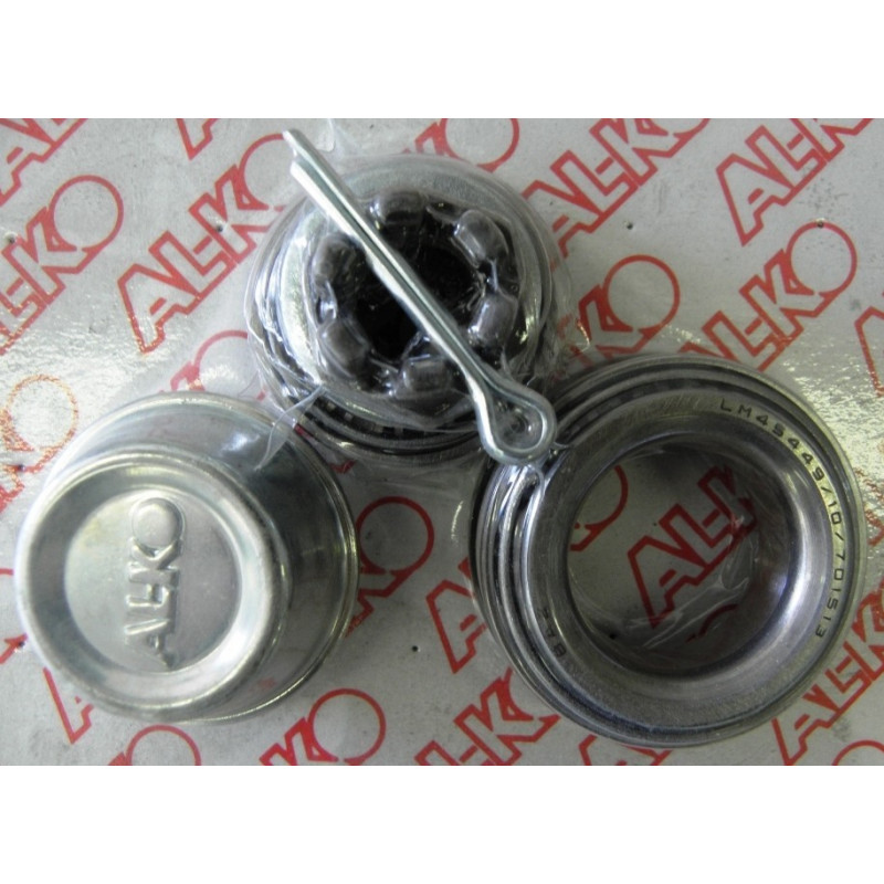 Kit roulement conique pour essieux 750Kg NF - Alko