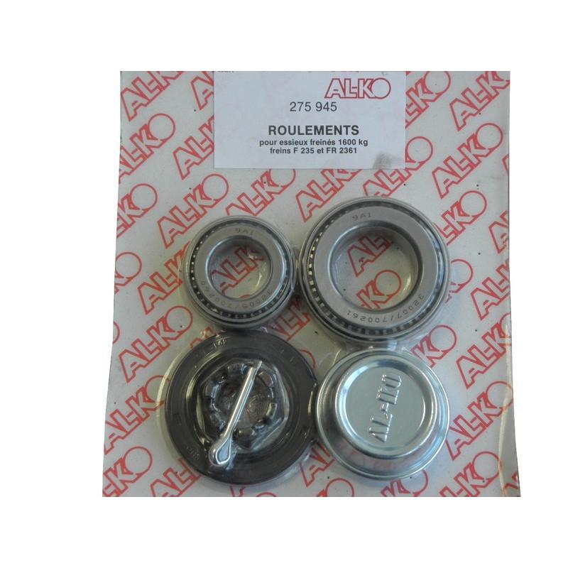 Kit roulement conique pour essieux de 1400Kg et 1600Kg F - Alko