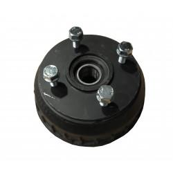 Tambour complet 4x130 pour essieu compact freiné 900Kg - Alko