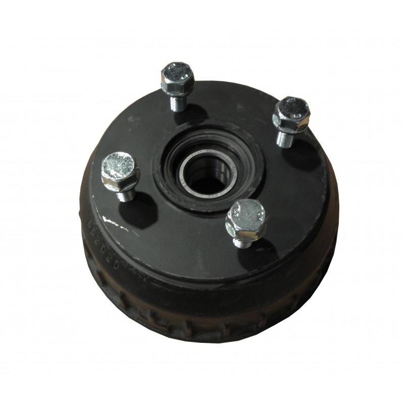 Tambour complet 4x130 pour essieu compact feiné 1400Kg - Alko