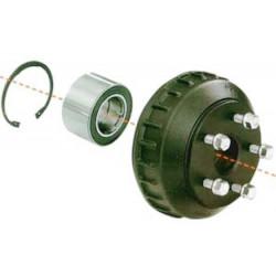 Tambour complet 5x140 pour essieu freiné 1600Kg - Alko
