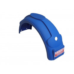 Garde boue 14 pouces arrondi en plastique Bleu - 760x220x275mm - P