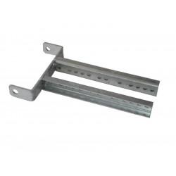 Support diabolo réglable pour diabolo ou bobine en 200mm pour timon en 60mm de largeur