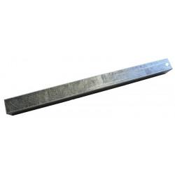 Chandelle galvanisée en carré 40x40 500mm
