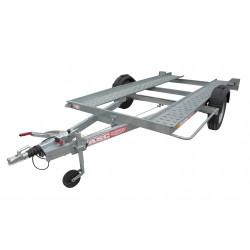 Remorque porte voiture PV0981F - plateau 3,8x1,75m - PTAC de 1300kg