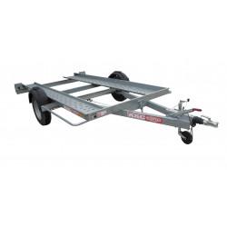 Remorque porte voiture PV0981F - plateau 3,8x1,75m - PTAC de 1350kg