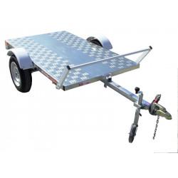 Remorque plateau PL0351 - plateau de 2,0x1,22m - PTAC 500kg