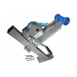 Potence complète en tube 60x60 mm pour timon en 60x100mm - avec diabolo