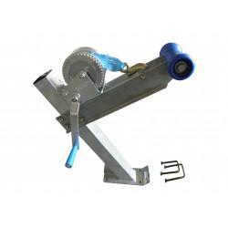 Potence complète en tube 60x60 mm pour timon en 60x60 mm - avec diabolo