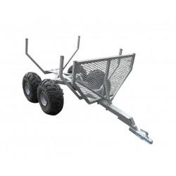 Remorque non routière CHPL0601 - plateau 2,4x1,40m - MMA ou PTAC 720kg