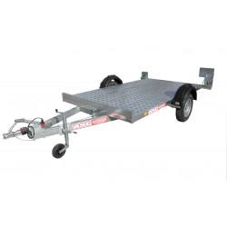 Remorque ASC PL0771F plateau de 3,0x1,65m PTAC 1060kg