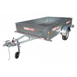 Remorque bagagère BAG0591 - caisse de 2,0x1,23m - PTAC 750kg