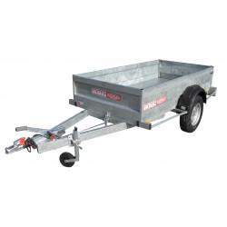 Remorque utilitaire UTI0741F - caisse de 2,5x1,25m - PTAC 1060kg