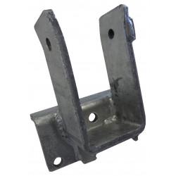 Chape pour timon en 60x60mm pour remorque plateau PL0351
