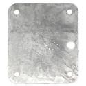 Contre plaque d'articulation en 120 mm pour timon