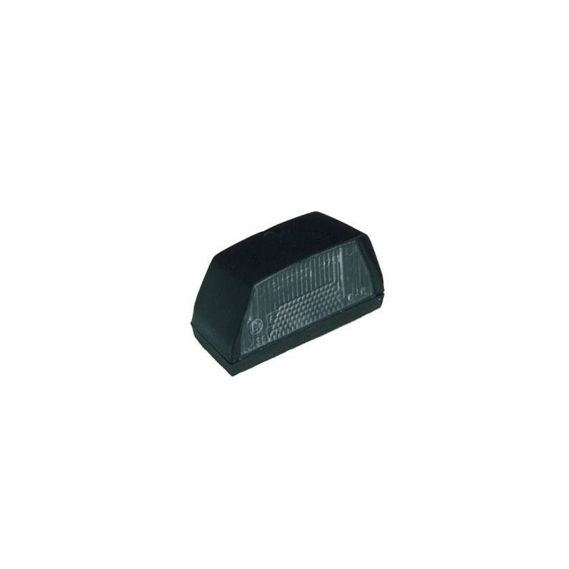 Eclaireur de plaque noir JOKON 100x55 mm