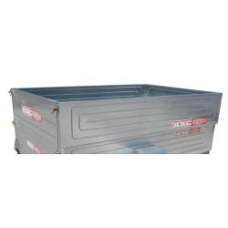 Rehausses en tôle pleine pour remorque bagagère - 2000x1220 mm