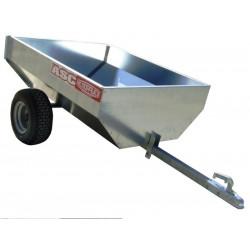 Remorque non routière CHPL0201 caisse 1,2x1,00m PTAC 260kg