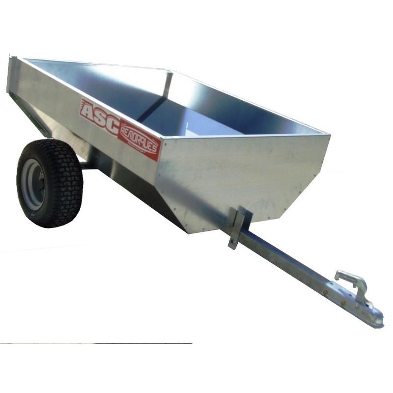 Remorque non routière CHPL0201 - caisse 1,2x1,00m - MMA ou PTAC de 260kg
