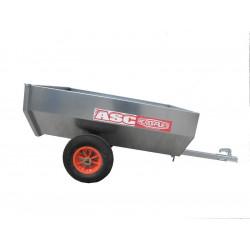 Remorque non routière CHPL0211 - caisse 1,2x1,00m - MMA ou PTAC de 260kg