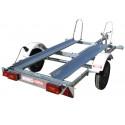 Remorque porte moto MO0391 - caisse 2x1,13m - PTAC 500kg