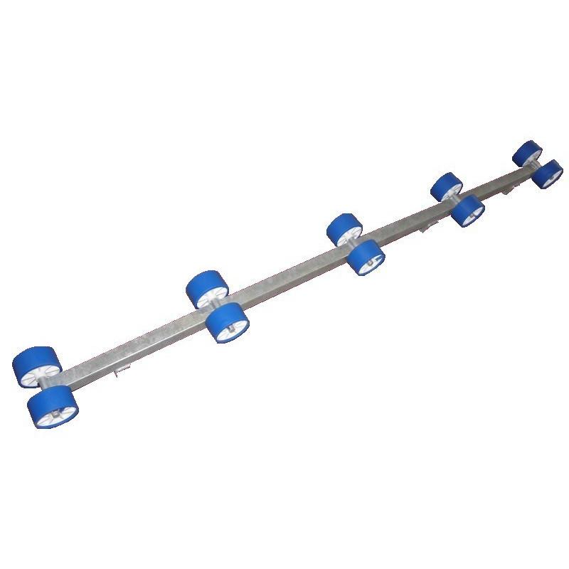 Rampe de rouleaux en 1.80m, 2 fixations (la paire)