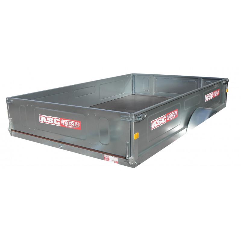 Kit ridelles pour remorque porte quad MM - 2500x1610 mm