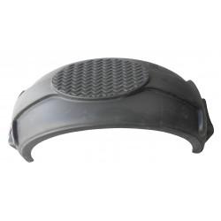 Garde boue 14 pouces arrondi en plastique Noir - 760x220x275mm - P