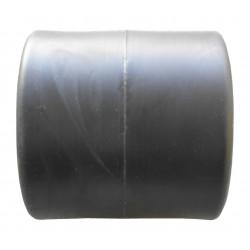 Bobine de treuil en caoutchouc noir Ø 60 long 60 mm alésage 21 mm
