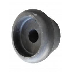 1/2 cône en caoutchouc noir pour bobine de treuil de 60 mm de diamètre - alésage 21 mm