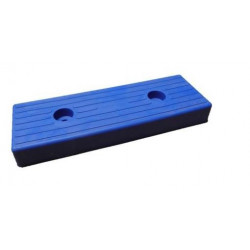 Patin moulé GM 300x100 mm Bleu