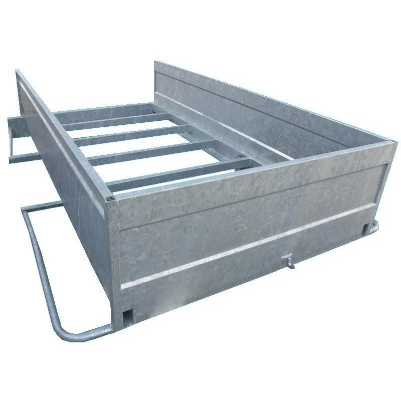 ch ssis avec ridelles pour remorque utilitaire asc remorques. Black Bedroom Furniture Sets. Home Design Ideas
