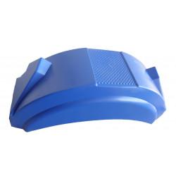 Garde boue 11-12 pouces plastique Bleu - 670x170x240mm