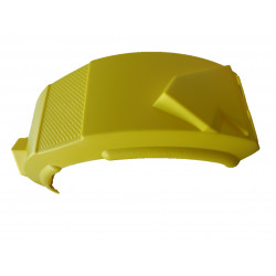 Garde boue 13-14 pouces plastique Jaune - 750x350x170mm - PAM