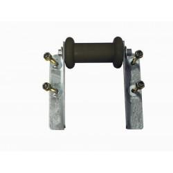 Ensemble diabolo de soutien en 130mm pour tube en 80x40mm