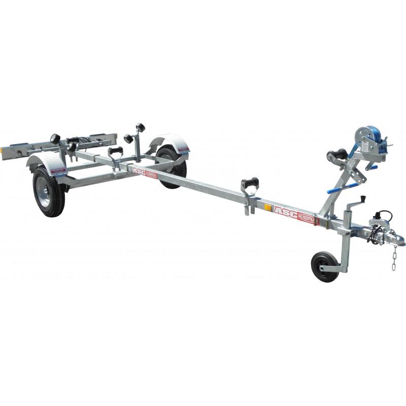 Remorque motonautisme ASC - TB0221 - longueur 4,20m - PTAC 310kg